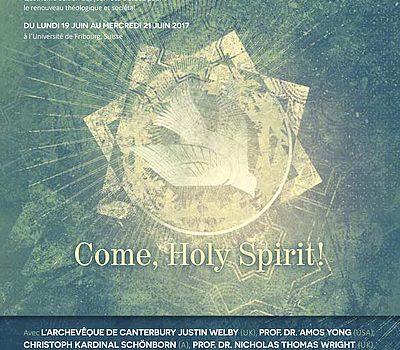 JOURNÉES D'ÉTUDE 2017  COME, HOLY SPIRIT